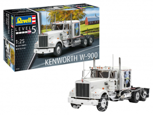 Revell maquette camion 07659 Kenworth W-900 1/25