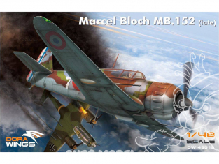 Dora Wings maquette avion DW48019 Marcel Bloch MB.152 Dernières versions 1/48