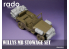 Rado miniatures accessoire RDM35S01 Charges pour Jeep Willys MB Tamiya 1/35