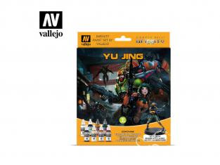 Vallejo Set Infinity 70235 Yu Jing 8 pots de peintures 17ml