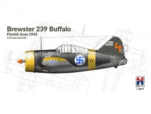 Hobby 2000 maquette avion 72011 Brewster 239 Buffalo - As Finlandais 1942 1/72