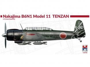Hobby 2000 maquette avion 72015 Nakajima B6N1 Model 11 TENZAN 1/72