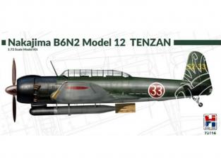 Hobby 2000 maquette avion 72016 Nakajima B6N2 TENZAN 1/72