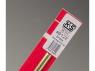 """K&S 8122 Tube ovale de laiton 0.27"""" (7mm) 1piéces"""