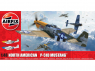 Airfix maquette avion A05138 North American P-51D Mustang™ 1/48