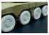 Hauler accessoires diorama HLX48292 Roues JGSDF Type 16 (Tamiya kit) 1/48