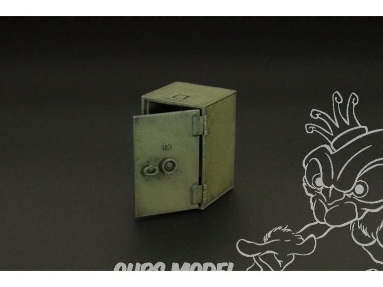 Hauler accessoires diorama HLX48394 coffre fort US 1/48