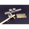 Hauler accessoires diorama HLU35113 Lampes et isolateurs télégraphiques 1/35