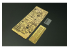 Hauler kit d'amelioration HLH72092 TPz-1 Fuchs A6 ABC pour kit Revell 1/72