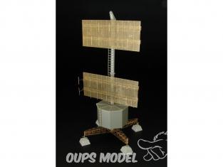 Hauler accessoire diorama militaire HLP72030 radar station Allemande FREYA-LZ A EGON 1/72