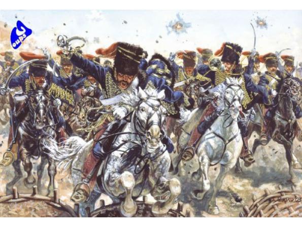 Italeri maquette historique 6052 Hussards Britanique 1/72