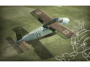 Brengun maquette avion BRP72036 Me P1103 rocket fighter 1/72