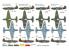Brengun maquette avion BRP72038 Yakovlev Yak-1b Capturé 1/72