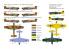 Brengun maquette avion BRP72039 Typhoon Mk.Ib Car Doors-Desert et essais de la Luftwaffe 1/72