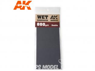 AK interactive outillage ak9032 Papier abrasif à l'eau Grain 800