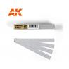 AK interactive outillage ak9022 Bandes de papier abrasif à sec Grain 240