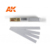 AK interactive outillage ak9025 Bandes de papier abrasif à sec Grain 800