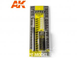 AK interactive outillage ak9011 Cutter avec 20 lames