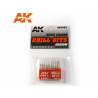 AK interactive outillage ak9043 Set de forets (0.4 - 1.3)