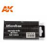 AK interactive outillage ak9015 Set de 20 forets (0.3 - 1.6)