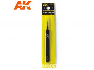 AK interactive outillage ak9008 Pince brucelle de précision droite
