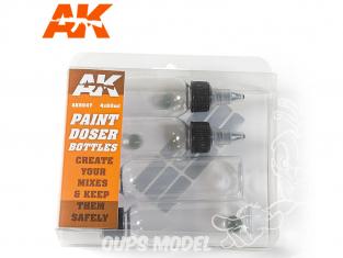 AK interactive outillage ak9047 Pots de peinture doseurs 4 x 60ml