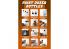 AK interactive outillage ak9048 Pots de peinture doseurs 3 x 100ml