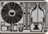 EDUARD photodecoupe 32200 P-47M exterior 1/32
