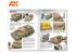 Ak Interactive livre AK912 DAK Véhicules Allemand en Afrique du Nord en Anglais