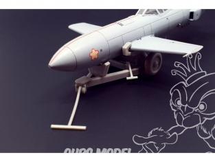 Brengun accessoire avion BRL72178 Trolley pour un Ohka model 22 1/72