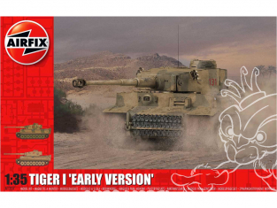 Airfix maquette militaire A1357 Tigre I Early Version 1/35