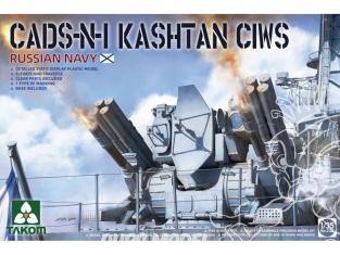 Takom maquette bateau 2128 Marine russe CADS-N-1 Kashtan-М 1/35