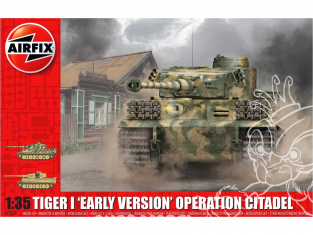 Airfix maquette militaire A1354 Tigre I Early Version Operation Citadel 1/35
