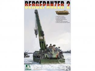 Takom maquette militaire 2122 Bergepanzer 2 1/35