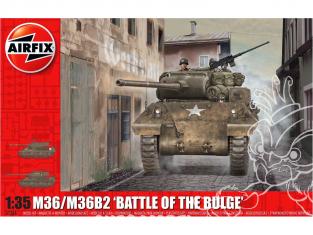 Airfix maquette militaire A1366 M36 / M36B2 Bataille des Ardennes 1/35