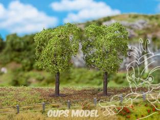 Faller végétation 181191 2 PREMIUM Ormes environ 100mm