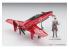 """HASEGAWA MAQUETTE 52228 """"Escadron Kotobuki dans le désert"""" 18e site de l'avion de chasse Shinden Isao Spécifications 1/48"""