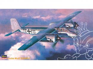 HASEGAWA maquette avion 51215 Focke-Wulf Ta154V-3 1/72