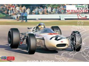 Hasegawa maquette voiture 20412 Honda F1 RA272E 65 Italie GP 1/24