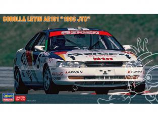 Hasegawa maquette voiture 20417 Corolla Levin AE101 «1993 JTC» 1/24
