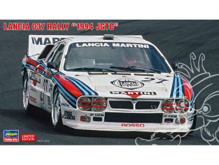 """Hasegawa maquette voiture 20414 Lancia 037 Rally """"1994 JGTC"""" 1/24"""
