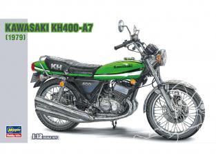 Hasegawa maquette moto 21506 Kawasaki KH400-A7 1/12