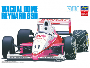 Hasegawa maquette voiture 20410 Wacoal Dome Reynard 89D F3000 1/24