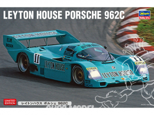 Hasegawa maquette voiture 20411 Leyton House Porsche 962C 1/24