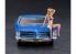Hasegawa maquette voiture 52224 PONTIAC BONNEVILLE 1966 avec figurine 1/24