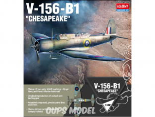 Academy maquette avion 12330 V-156-B1 CHESAPEAKE 1/48