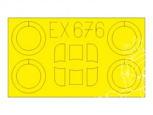 Eduard Express Mask EX676 Arado Ar 68E Roden 1/48