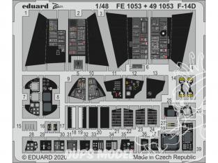 EDUARD photodecoupe avion FE1053 Zoom Amélioration F-14D AMK 1/48