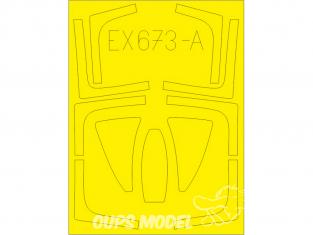 Eduard Express Mask EX673 F-14D TFace AMK 1/48