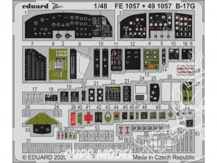 EDUARD photodecoupe avion 491057 Cockpit B-17G Hk Models 1/48